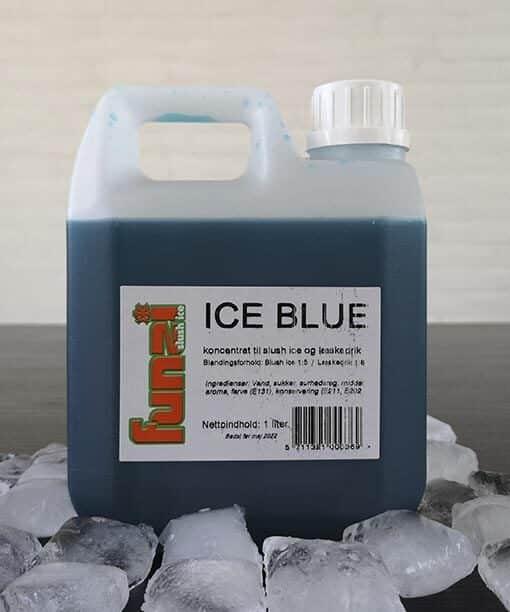 blå slush ice saft