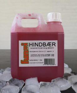 rød hindbær slush ice smag
