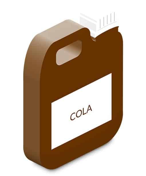 cola slush ice saft kontentrat